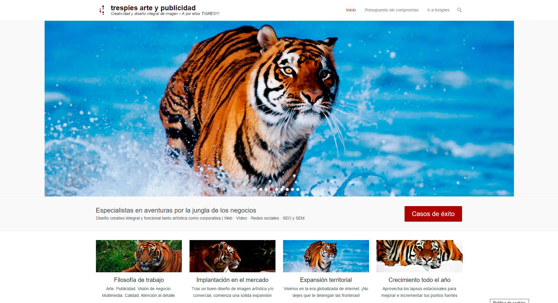 web Agencia de arte y publicidad
