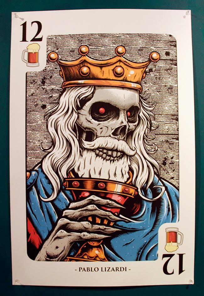 Carta rey de la muerte
